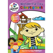 Little Worship Company Wonderful Day Colouring Book