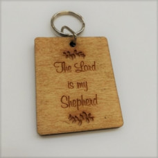 Wooden Keyring The Lord Is My Shepherd