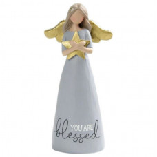 You Are Blessed Standing Angel Ornament