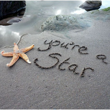 You're A Star Sand Card