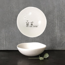 Small You Are Loved Wobbly Dish