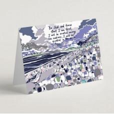 Story Of Stillness A6 Greetings Card