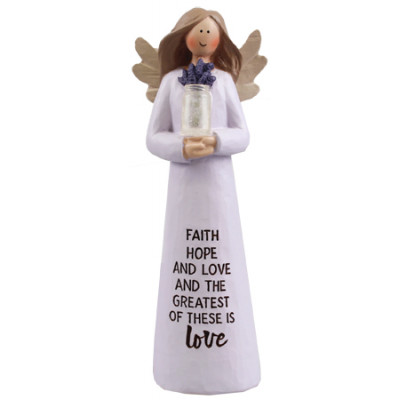 Faith Hope Love Message Angel